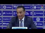 Rueda de prensa de José Luis Oltra tras el CD Tenerife vs UD Almería (1-3)
