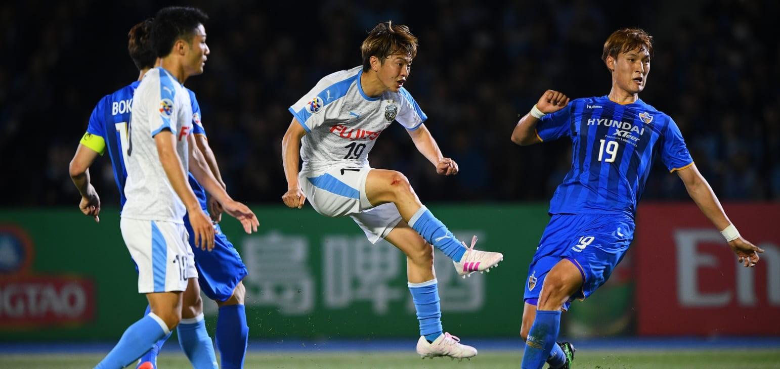 Group H: Kawasaki Frontale (JPN) 2-2 Ulsan Hyundai FC (KOR)