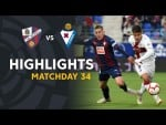 Highlights SD Huesca vs SD Eibar (2-0)