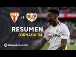 Resumen de Sevilla FC vs Rayo Vallecano (5-0)