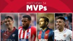 Vote for the MVP of Matchday 34 in LaLiga Santander