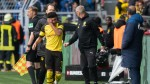 German FA to investigate after Dortmund's Sancho hit by lighter