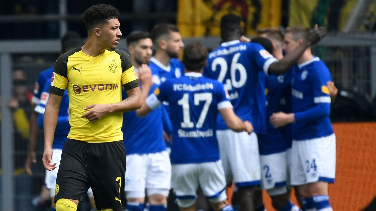 Dortmund's title hopes hit by shock home loss to Schalke