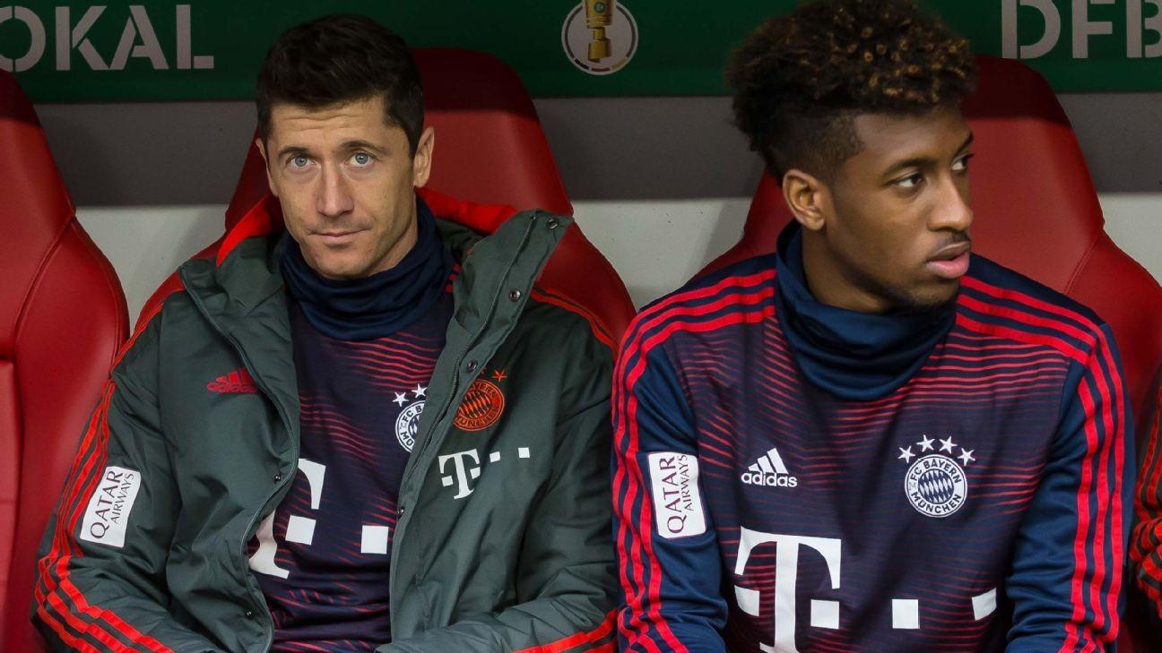 Bayern stars Lewandowski, Coman had 'scuffle' but no action taken - Kovac