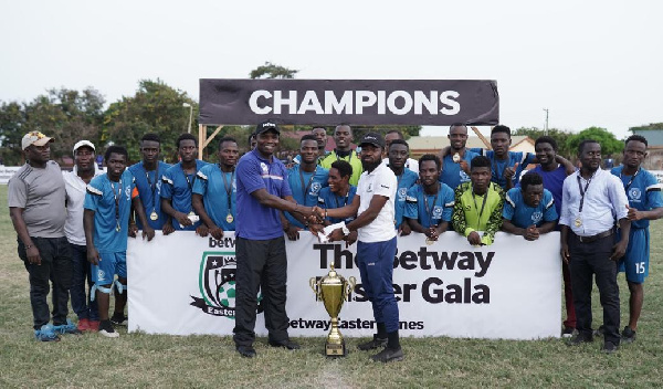Betway Easter Gala 2019: Top 4 winners awarded