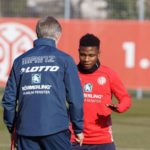 Mainz 05 forward Abass Issah recovers from injury