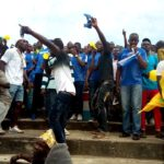 Aduana Stars fans hold referees hostage after Medeama draw
