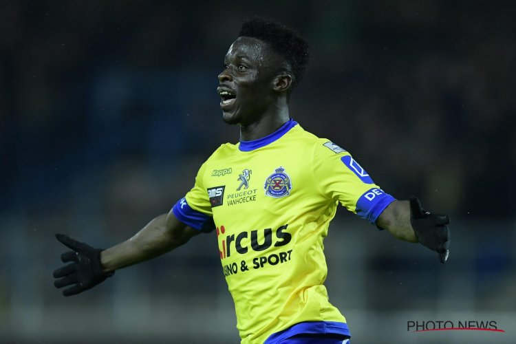 Nana Ampomah scores as Waasland Beveren thump Mouscron in Belgian Europa League playoffs