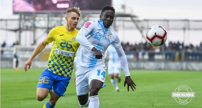 Striker Maxwell Acosty finds scoring boot as Rijeka crush Inter Zapresic