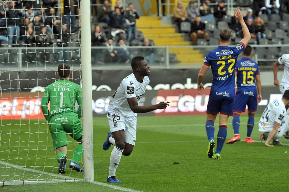 VIDEO: Watch Alhassan Wakaso's half volley strike for Vitoria Guimaraes in BIG win against Chaves