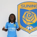 Black Queens captain Elizabeth Addo signs for Chinese side Jiangsu Suning