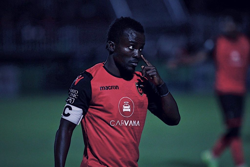 VIDEO: Solomon Asante scores, provides assist in Phoenix Rising thumping win