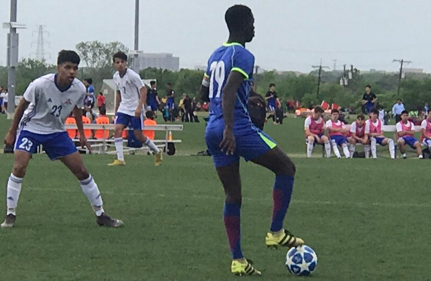 Bechem United U-17 thrash Solar South in second game at the Dallas Cup