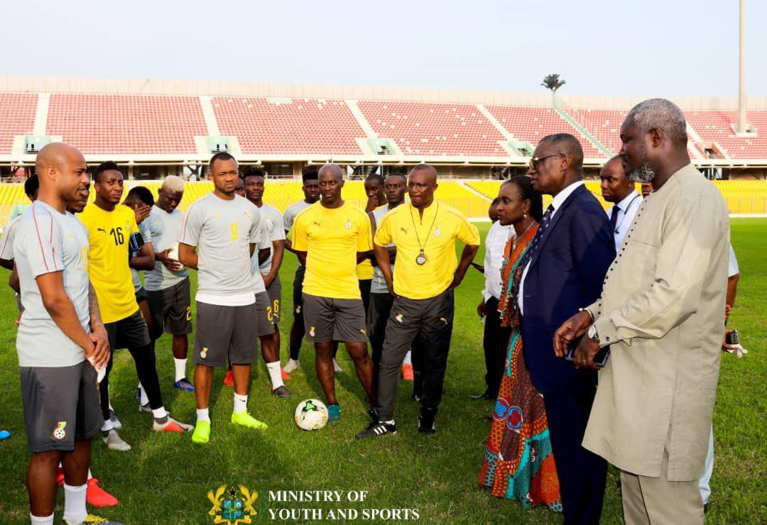 Black Stars coach, management committee in Abu Dhabi to inspect Ghana's camping base
