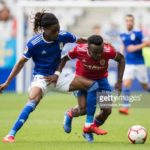 Alcoron midfielder Richard Boateng apologizes to injured Real Zaragoza star James Igbekeme