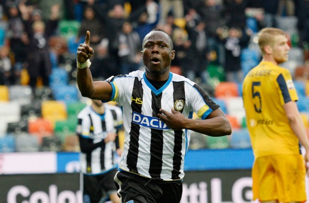Udinese midfielder Emmanuel Agyemang Badu happy to make first start in a year in Lazio defeat