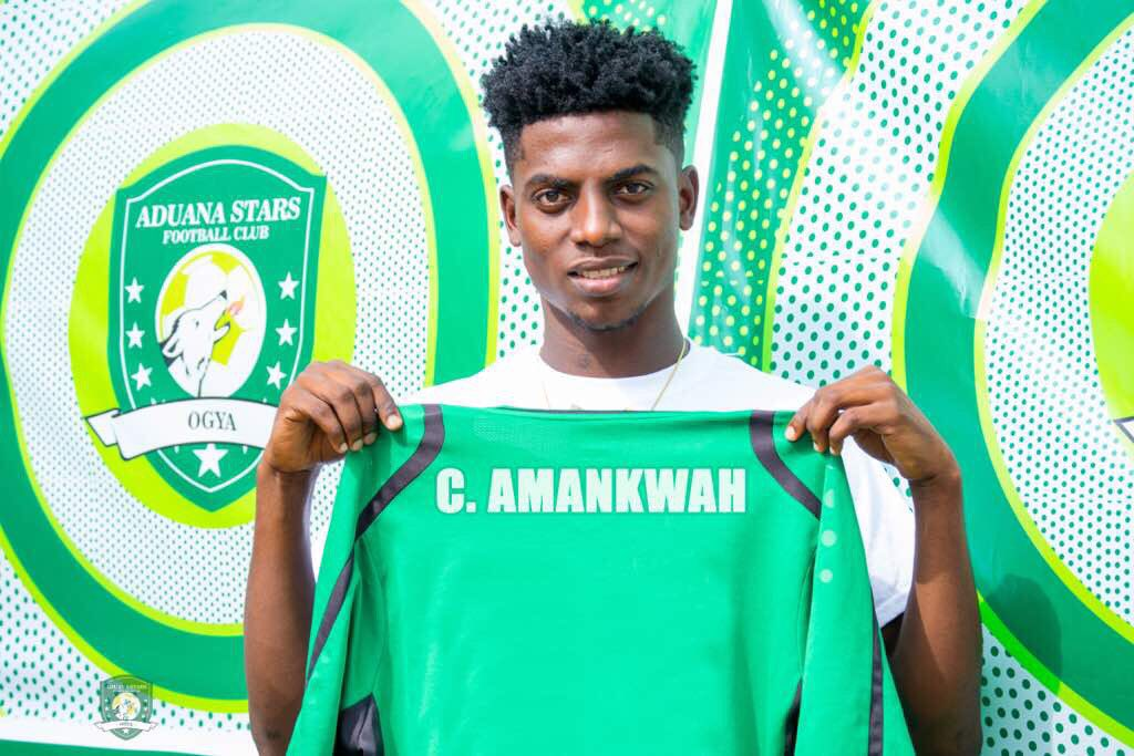 Sterling Sports Africa sign two year deal with defender Caleb Amankwaa