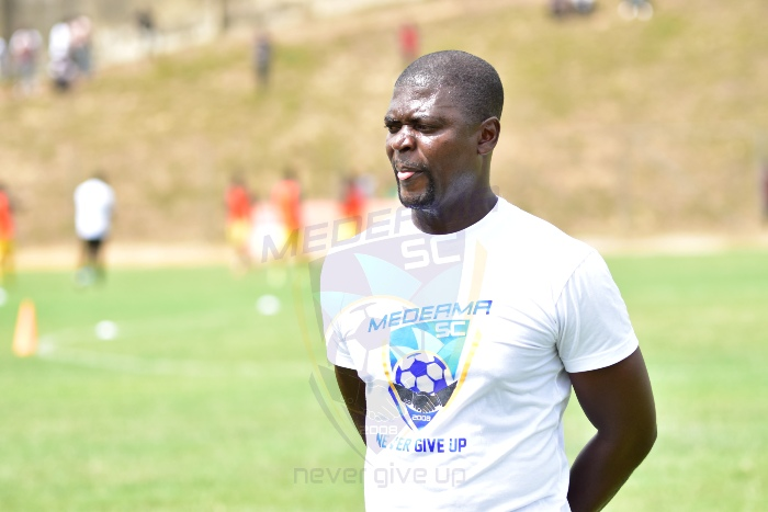 Medeama coach Samuel Boadu says everyone is staying grounded at Medeama