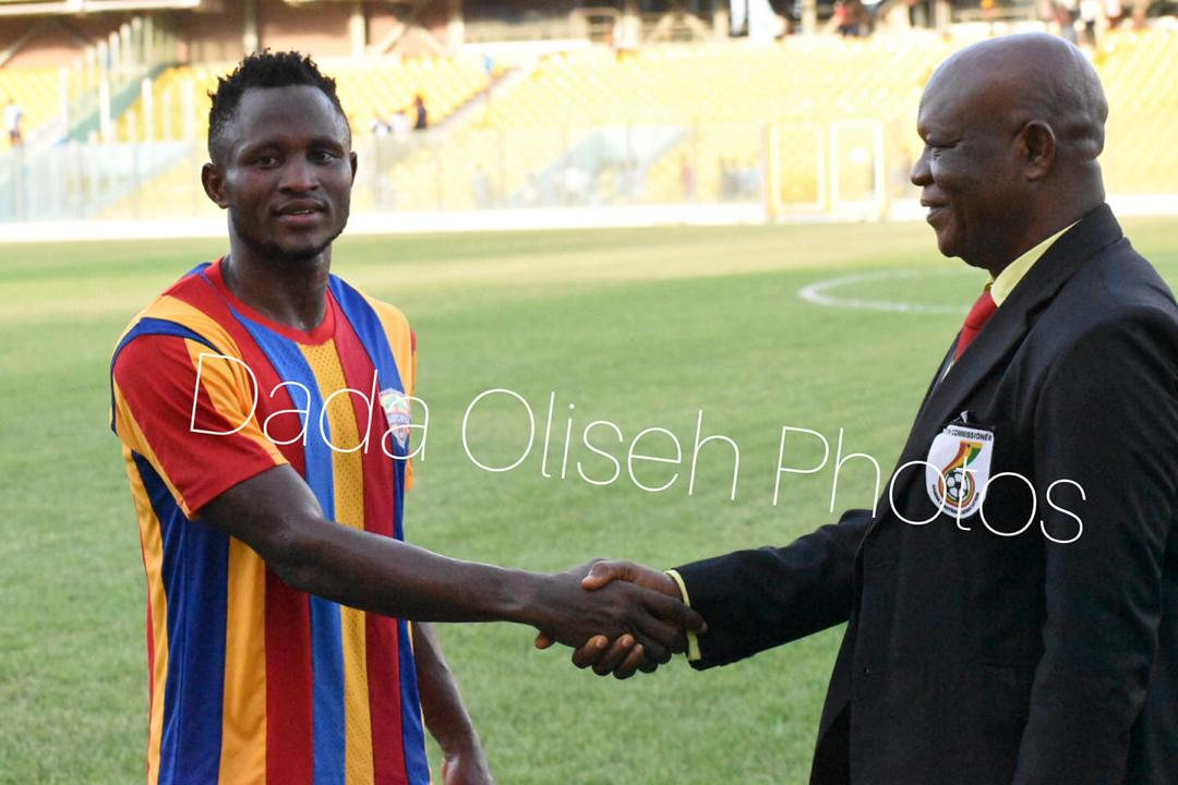 Special Competition: Hearts forward Joseph Esso adjuged Man of The Match in win over Inter Allies