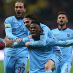 Caleb Ekuban: Ghana striker delighted to be extending stay with Trabzonspor
