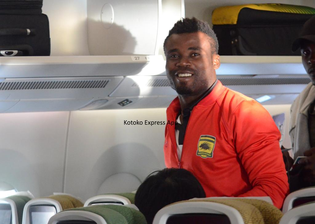 Fredrick Boateng shocked as Kotoko demand kits given to him after contract termination