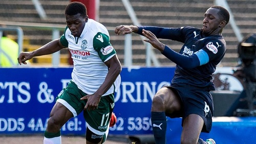 Ghana winger Thomas Agyepong wants to finish season with Hibernian on a high