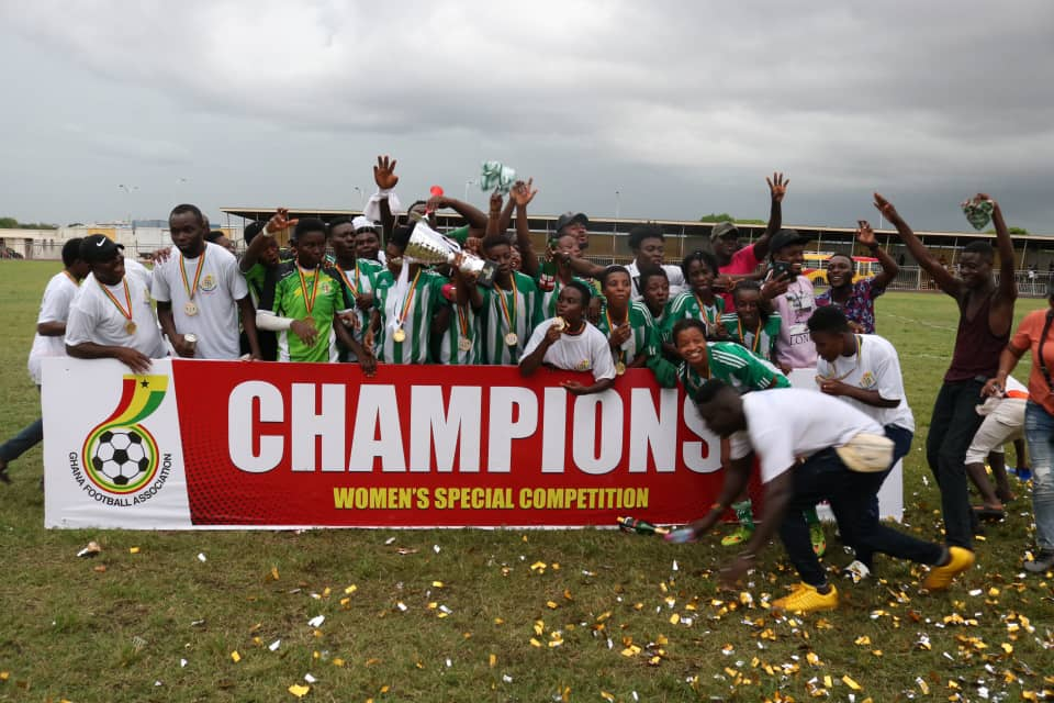 VIDEO: Watch Hasaacas Ladies incredible comeback to win Women's Special Competition