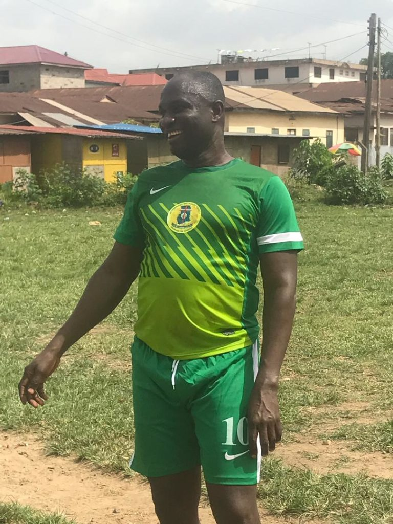 Medeama president Moses Armah guides a local church team to win tourney in Tarkwa