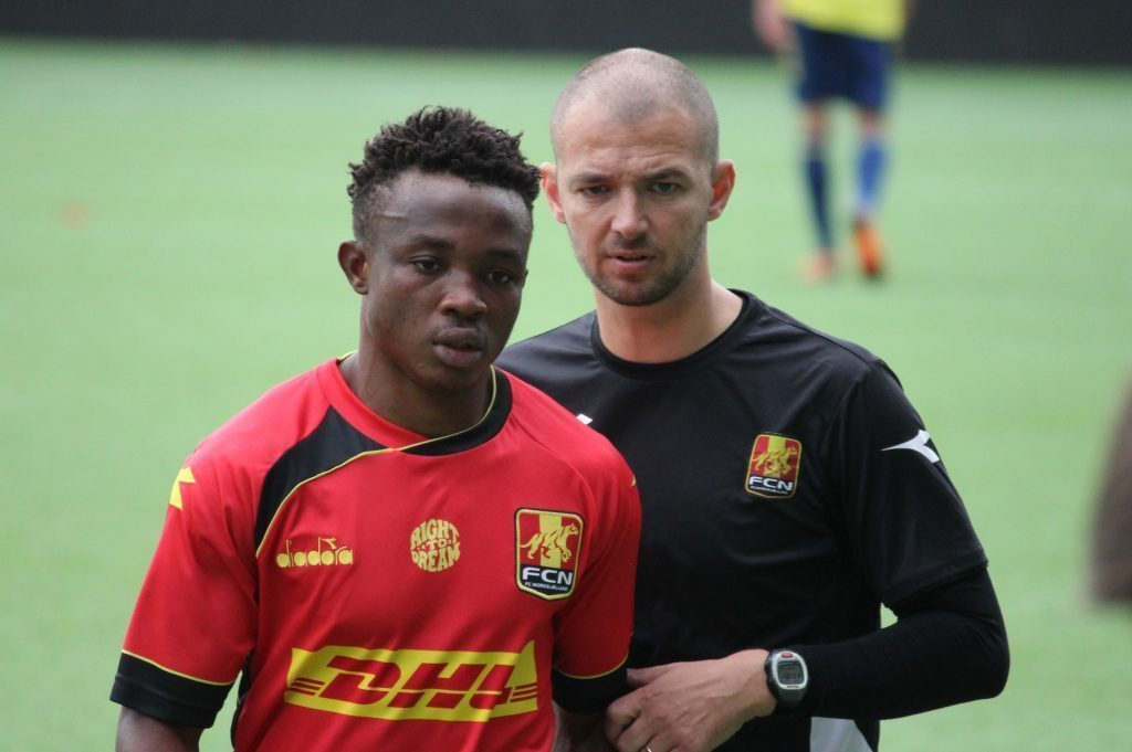 Ghanaian youth star Isaac Atanga promoted to Nordsjaelland First Team
