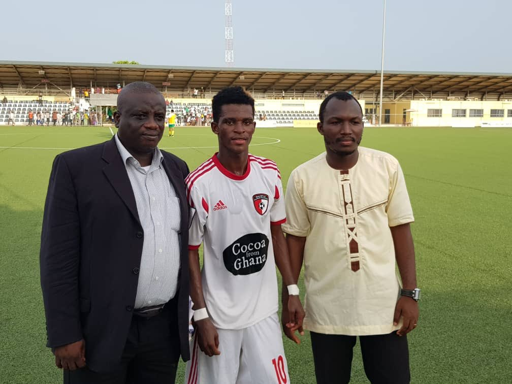 WAFA teenager Jamal Haruna bags third Man of the Match award in win over Dwarfs