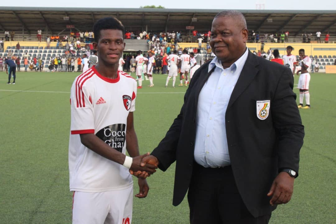 Special Competition: WAFA midfielder Jamal Huruna named Man of the Match in win over Hearts