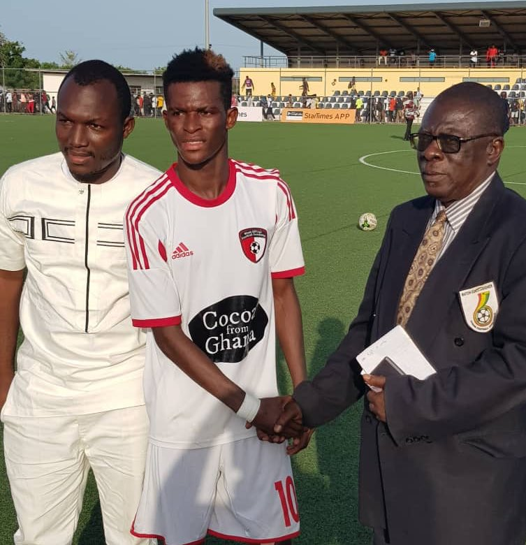 Special Competition: WAFA kid Jamal Haruna wins Man-of-the-Match in Karela win