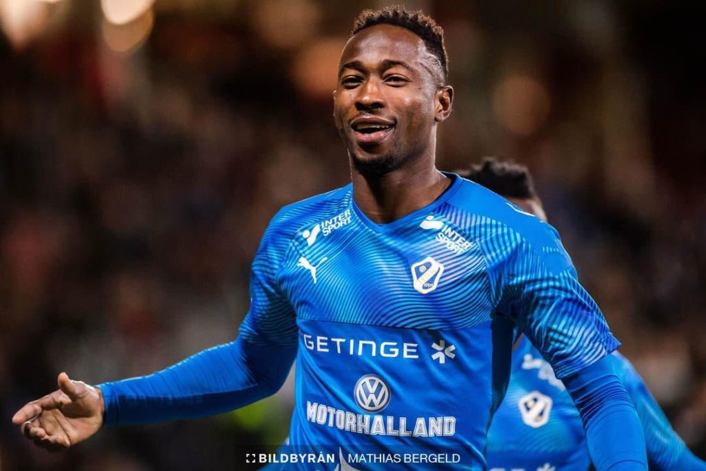 Karim Sadat hits hat-trick as Hamstalds BK thump IK Frej