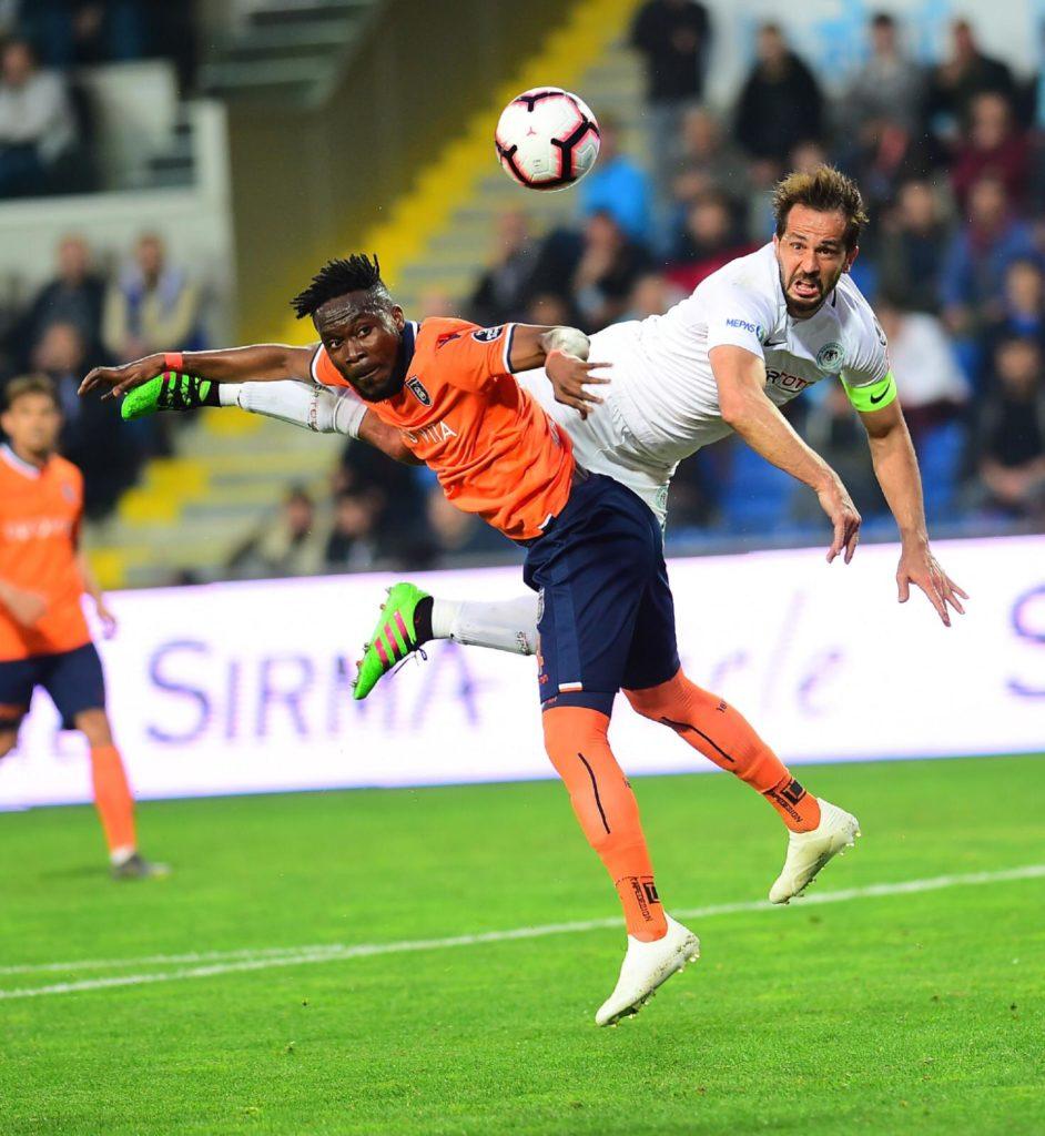 Attamah Larweh shines as ?stanbulBa?ak?ehir beat Konyaspor in Turkish Super Lig