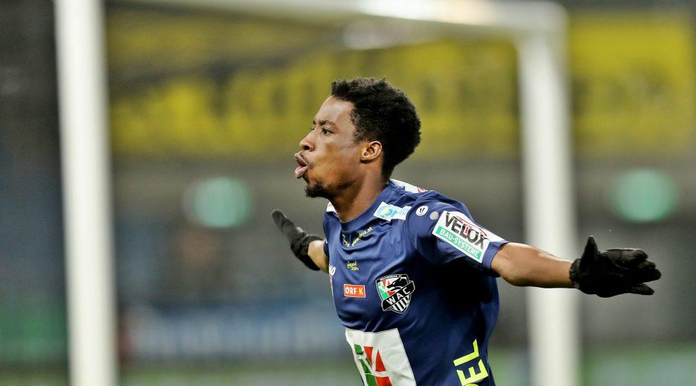 Swiss giants St Gallen keen to keep Red Bull Salzburg midfielder Majeed Ashimeru