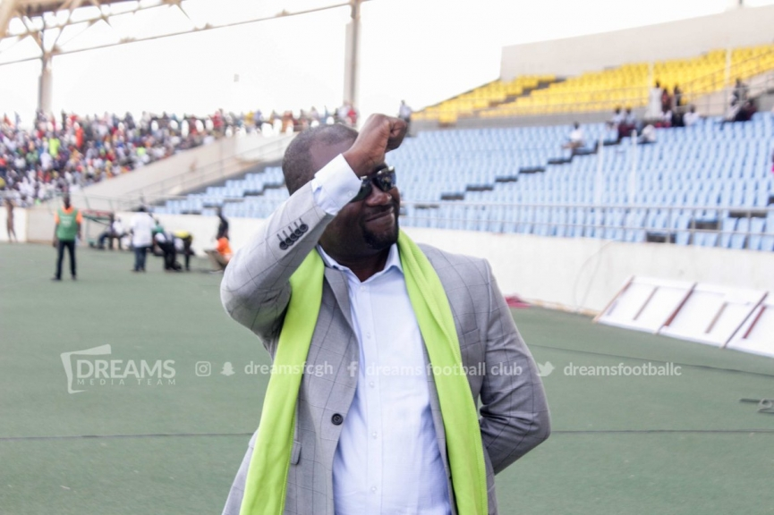 "Dreams FC boss Kurt Okraku calls for ""playing behind close doors"" as punishment to violent behaviour from home fans"