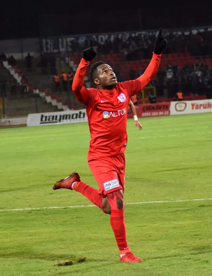 "Balikerispor forward Mahatma Otoo praises ""great team performance"" in big win over Karabukspor"