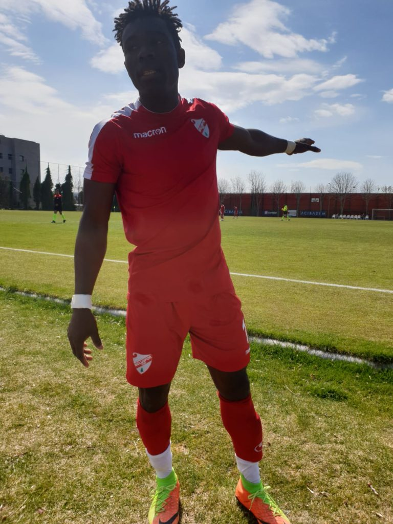 Former Ghana U-17 striker Patmos Arhin strikes to earn Boluspor U-21 a point at Gençlerbirliği S.K.