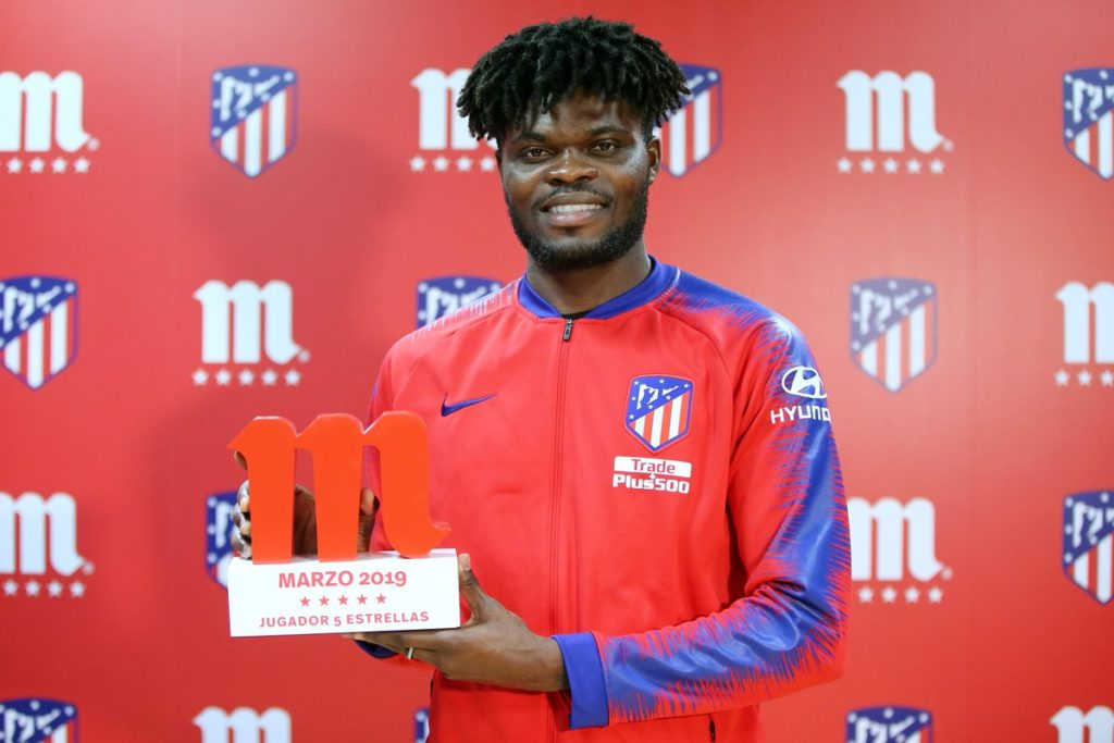Thomas Partey is an upgrade of Pogba - Atletico Madrid star's agent claims