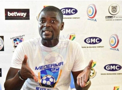 I didn't sleep last night because we couldn't beat Kotoko with more goals- Medeama coach Samuel Boadu