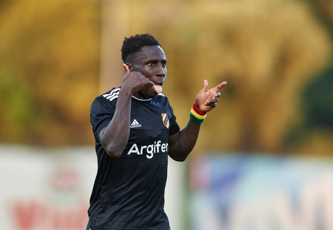 Ghanaian winger Samuel Owusu leads assists chat in Serbia