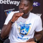 Medeama coach Samuel Boadu saddened by crowd trouble at Aduana Stars