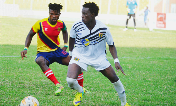 We ignored the coach's tactics in the second half in the defeat to Berekum Chelsea- Ashantigold forward Shafiu Mumuni