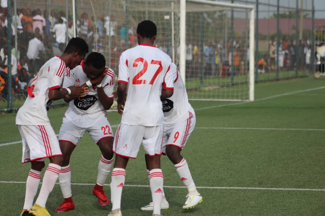 VIDEO: WAFA beat again Hearts of Oak again in Sogakope- Watch all the goals