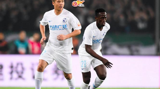 Ex-Levante striker Emmanuel Boateng scores twice as Dalian Yifang draw againstTianjin Quanjin in CSL