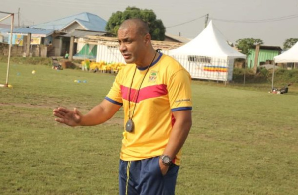 Special Competition: Hearts coach Kim Grant laments over his side's profligacy in defeat to Elmina Sharks