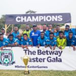 Blistering Emmanuel FC pip Danbort Youth FC to win Betway Easter Gala