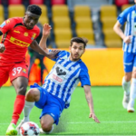 Performance of Ghanaian players abroad wrap-up: Kudus scores, Boakye-Yiadom-Tekpertey hits 13th and 11th goals respectively as Schlupp picks injury over the weekend