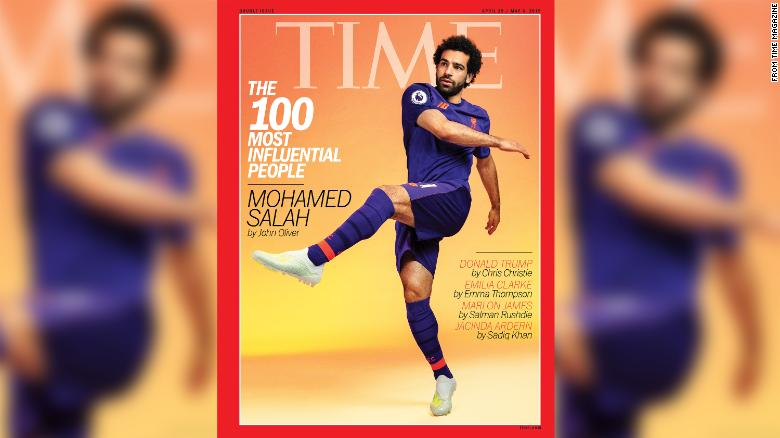 Video: Egypt and Liverpool ace Mohamed Salah stars on cover of TIME 100