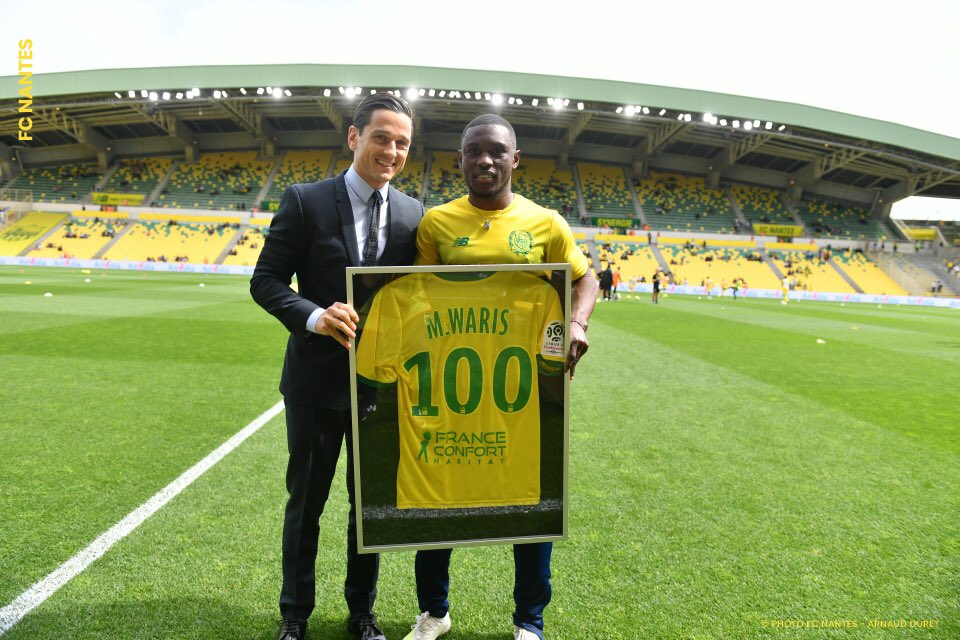 "Majeed Waris ""grateful"" after making 100th French Ligue 1 appearance"